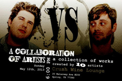 Talented Local Artists Display their Work in an Exhibit Called Versus