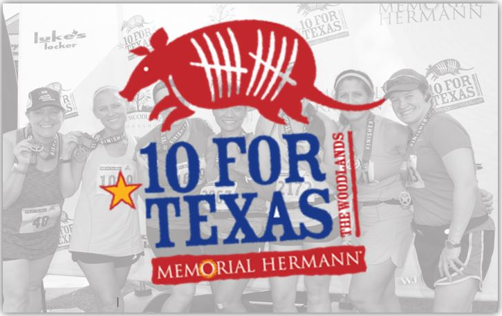 Memorial Hermann 10 for Texas