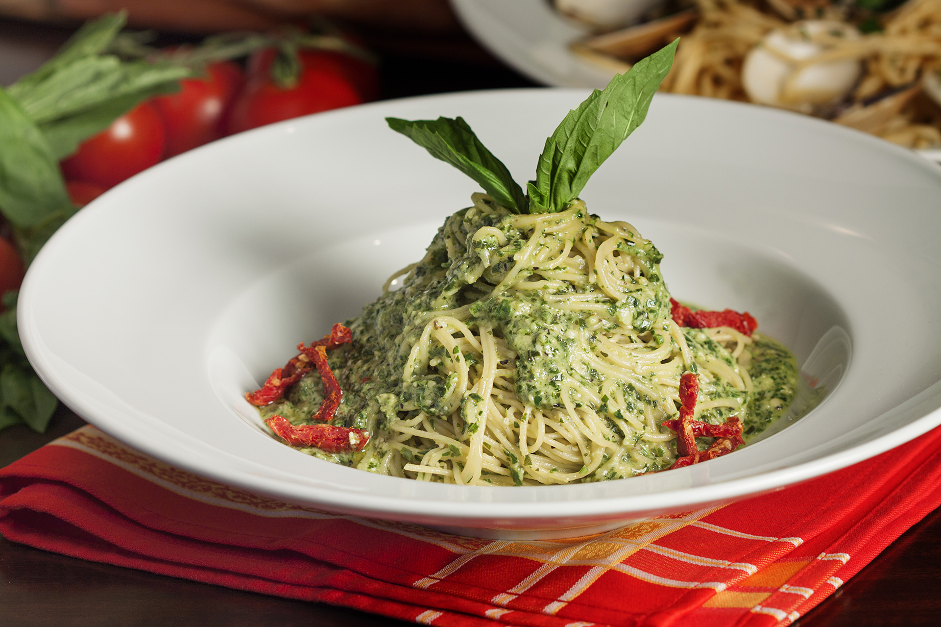 Angel Hair Pesto