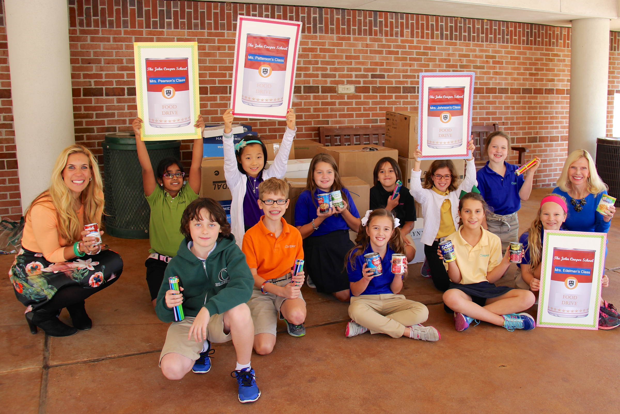 The John Cooper School Interfaith Food Pantry Donation