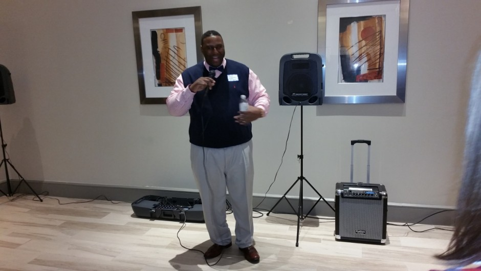 Rodney Dickerson of the Montgomery County Food Bank