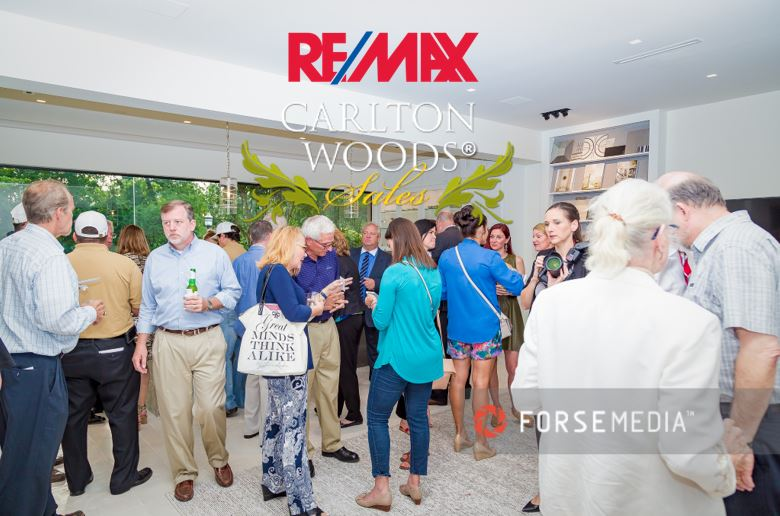 REMAX Carlton Woods Sales Grand Opening Party Mixer Photo: Forse Media