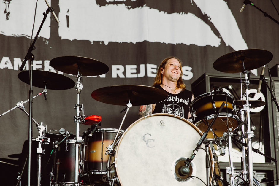 Chris Gaylor Drummer for The All-American Rejects - Photo Credit: Roshan Moayed