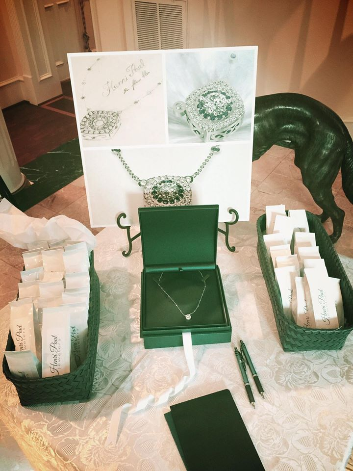 """Henri Paul Jeweler's Necklace at """"Into the Woods"""" Canopy Event Photo: Kickin' Events and Promotions"""