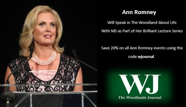 """""""A lot of people talk about a transformation that happens when life throws you a curveball, and the big one in my life was my MS diagnosis,"""" — Ann Romney"""