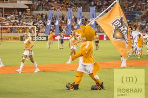 Dynamo Diesel energizing the crowd