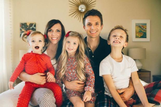 Matthew Burton's family