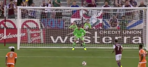 Colorado's Sanchez stepping up to covet a penalty