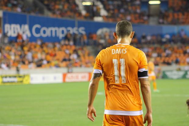 Houston Dynamo Captain Brad Davis