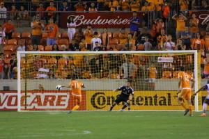 Davis converting his penalty