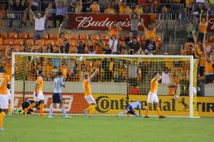 Houston Dynamo, Will Bruin's goal celebration!!