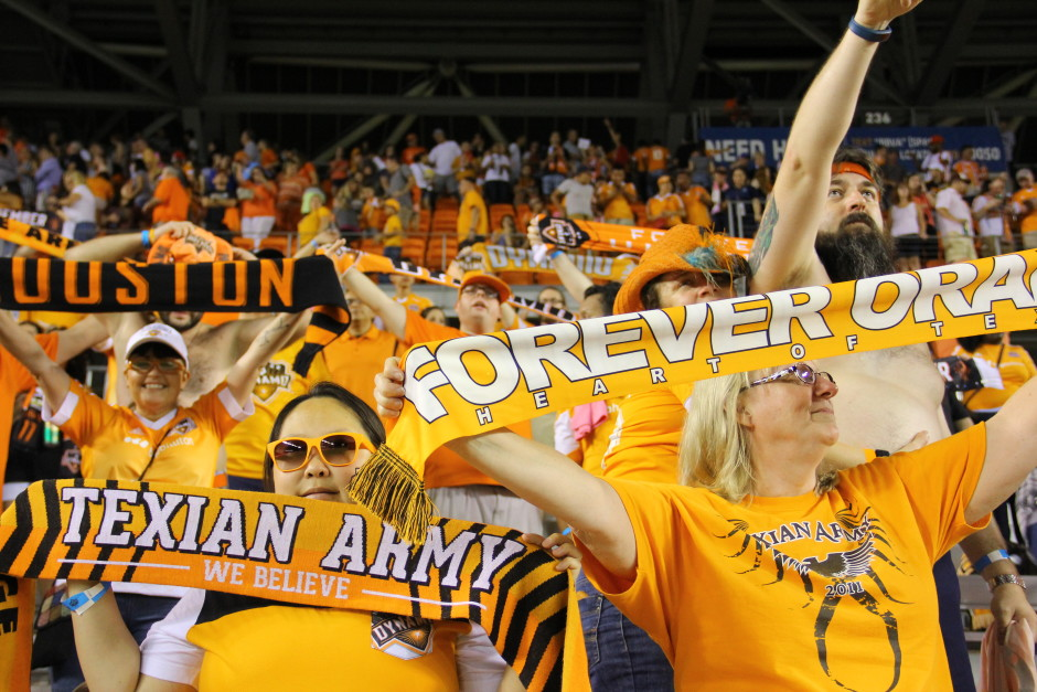 Dynamo Fans Relieved After the Final Whistle