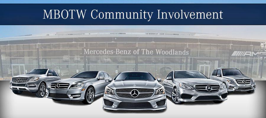 Mercedez-Benz of The Woodlands Community Involvement