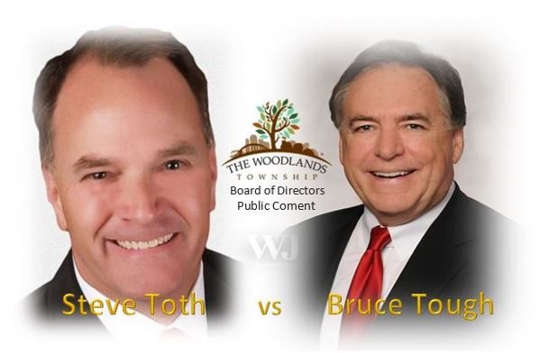 Steve Toth vs Bruce Tough Township Public Comment