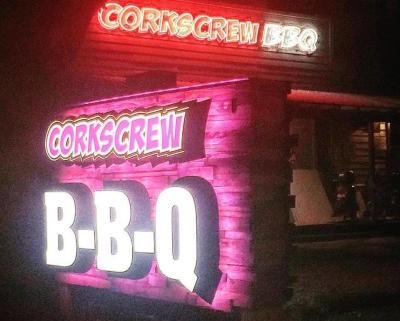 CorkScrew BBQ Soft Opening