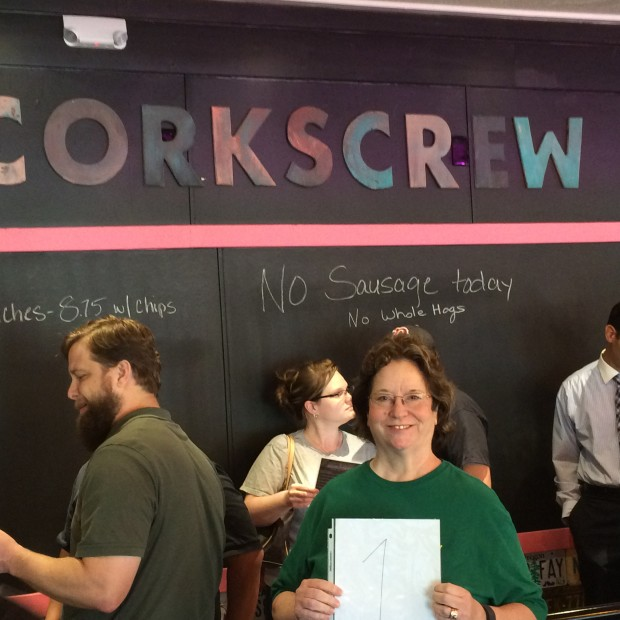 corkscrew first persno