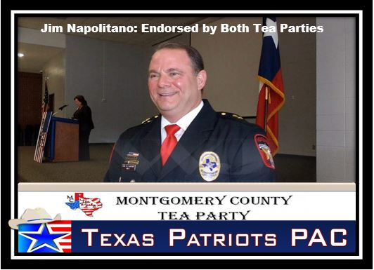 Jim Napolitano Endorsed by both Tea Parties