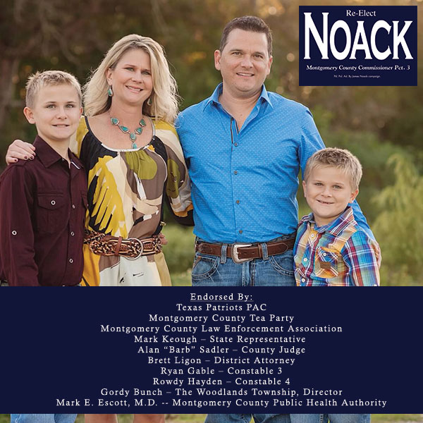 James Noack for County Commissioner