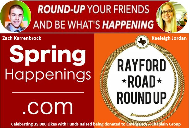 Spring Happenings and Rayford Round Up