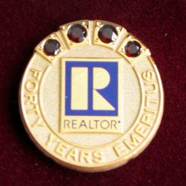 Realtor Emeritus Status Award
