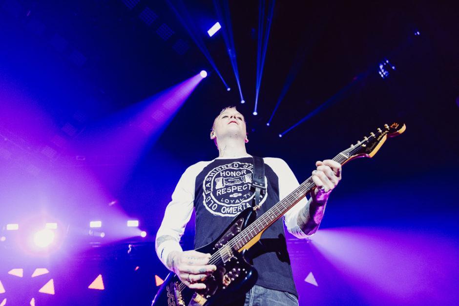 Matt Skiba Guitar for Blink 182 - Photo Credit: Roshan Moayed
