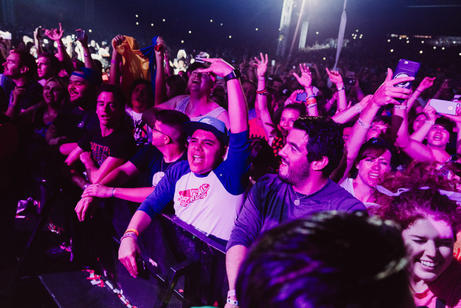 Blink-182 Audience - Photo Credit: Roshan Moayed