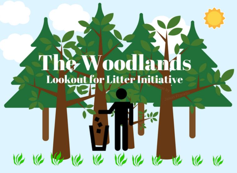 The Woodlands Lookout for Litter Initiative